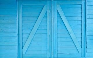 Двухстворчатые входные двери