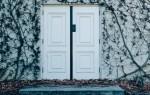 Какой наполнитель лучше для входной металлической двери
