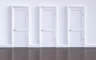 Двери Геона в интерьере