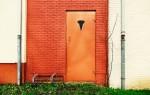 Типы металлических дверей по назначению
