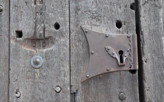 Магнитная защелка на дверь
